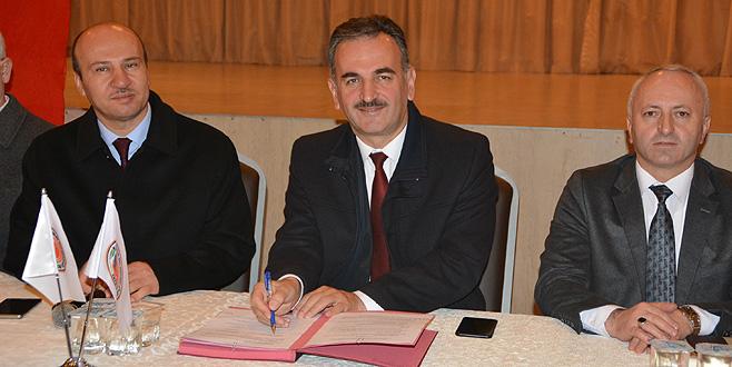 Gemlik'te toplu iş sözleşmesi imzalandı