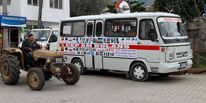 'Cep ambulansı' ile köy sakinlerinin hizmetinde! Bir telefon kadar yakın