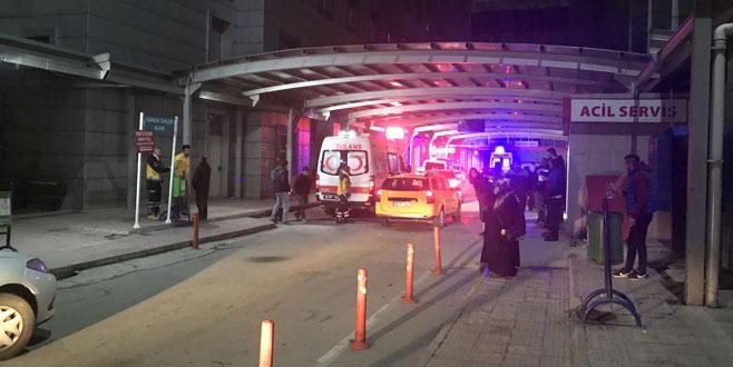 Bursa'da silahlı kavganın ortasında kalan kadın ağır yaralandı