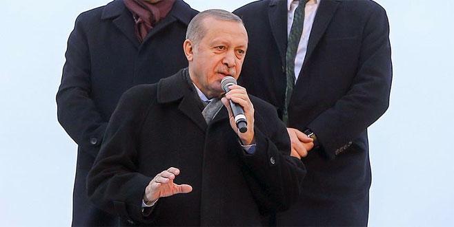 Cumhurbaşkanı Erdoğan: Burseya tepesi düşmek üzere