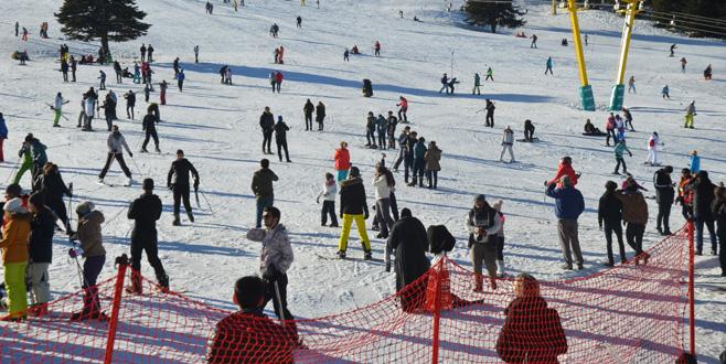 Uludağ'da festival yoğunluğu