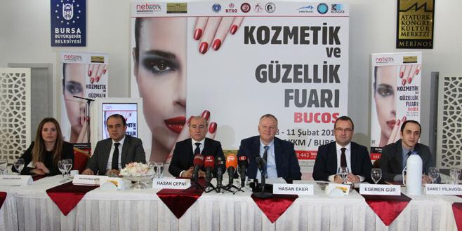 Kozmetik sektörü Bursa'da buluşacak