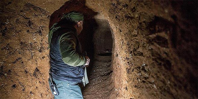 Teröristlerin gizlendiği bir tünel daha bulundu