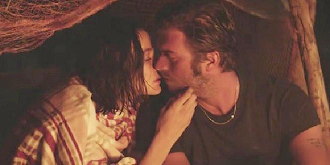 Kıvanç Tatlıtuğ ve Büşra Develi böyle öpüştü!