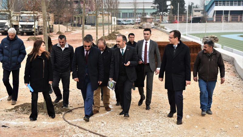 Yıkılan eski stat Bursa'ya nefes aldıracak
