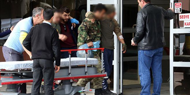 Sınır karakoluna hain saldırı! Yaralı askerler var…