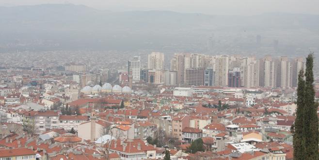 Bursa'nın kirli havasını lodos da temizleyemedi