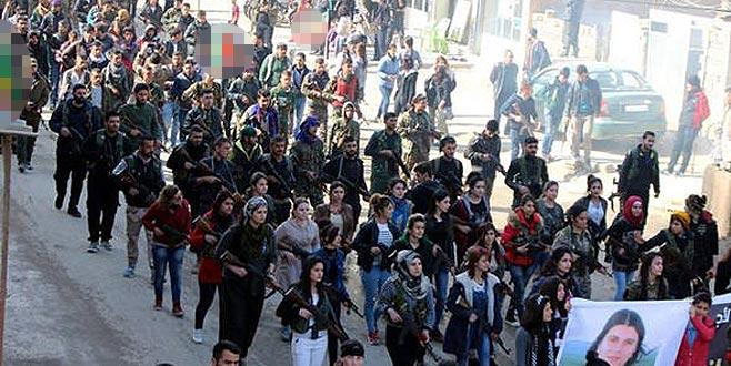 PYD/PKK 500 teröristi Afrin'e soktu