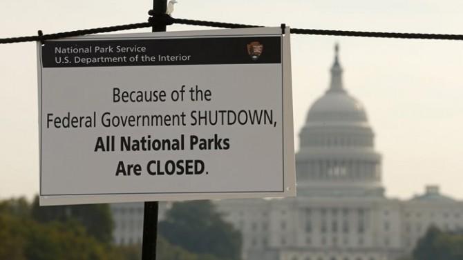 ABD'de hükümet ikinci kez kapandı!