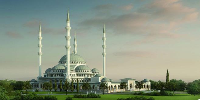 Temeli atılıyor: Bursa'nın en büyük Türkiye'nin 3. büyük cami olacak