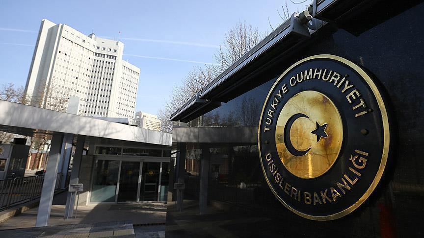 Türkiye'den Yunanistan Dışişleri Bakanı Kocias'a tepki