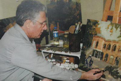 Bursalı ressam Süleyman Çete eserleriyle yaşıyor