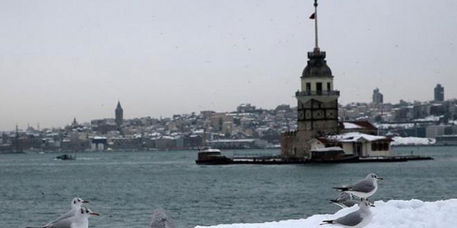 İstanbul'da 2 gün kar yağışı bekleniyor