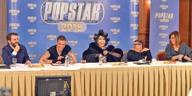 Popstar jürisi toplandı