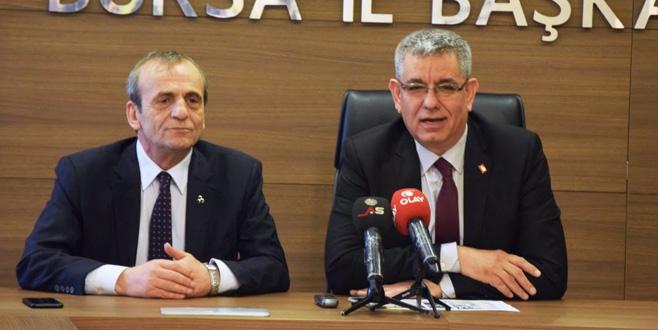 'Bursa'nın değerlerinde buluşmalıyız'