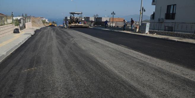 Mudanya'da 135 kilometre arazi yolu açıldı