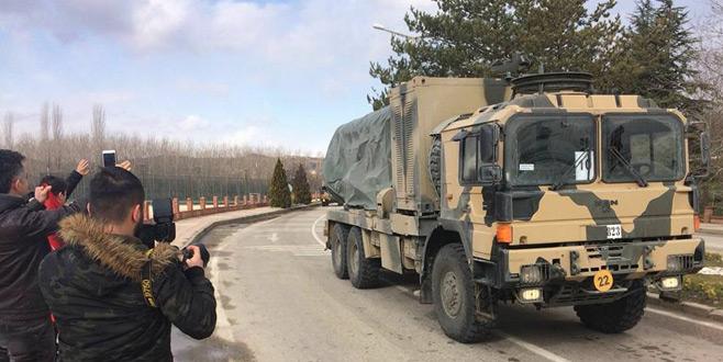 Karadeniz'de askeri sevkıyat
