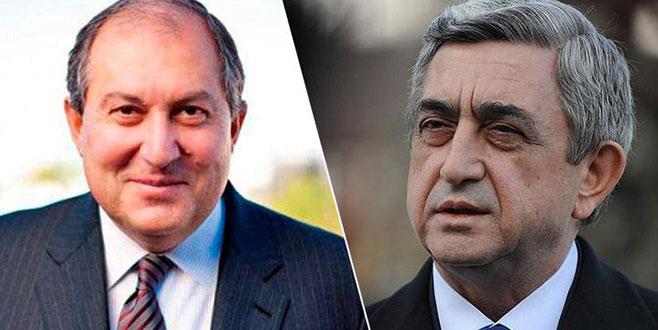 Sarkisyan'ın yerine Sarkissian geldi