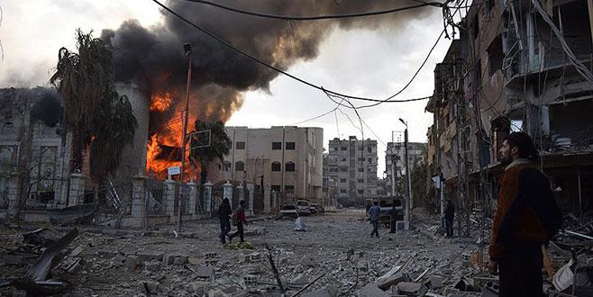 Esad rejimi Doğu Guta'da 23 sivili daha öldürdü