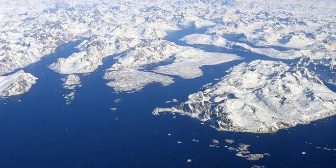 Kuzey Kutbu'ndaki sıcaklıklar, kışın ortasında donma noktasının üstüne çıktı