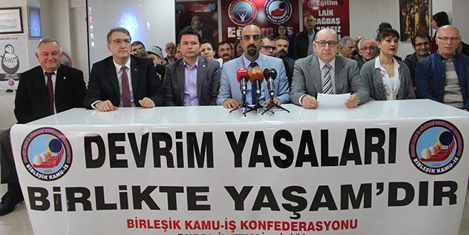'Devrim Yasaları laikliğin teminatı'
