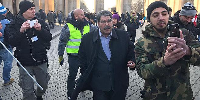 Salih Müslüm Berlin'de PKK mitingine katıldı