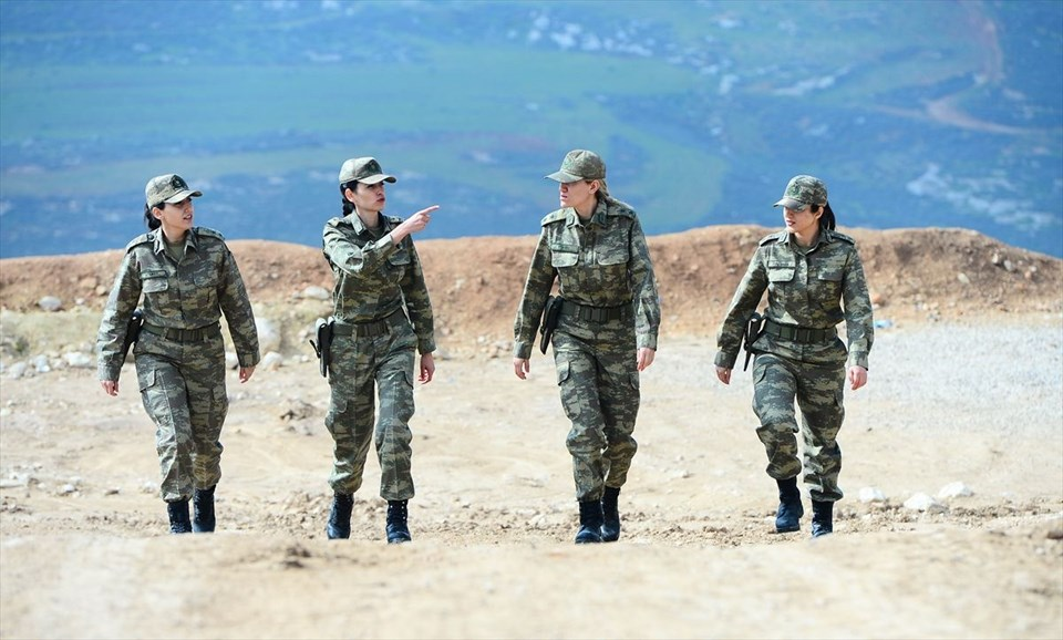 Zeytin Dalı Harekatı'nın kadın subayları