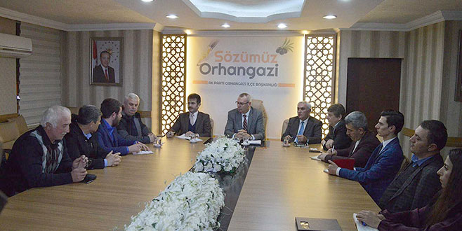 'Sözümüz Orhangazi'de tarım konuşuldu