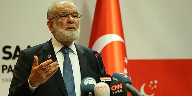 Saadet Partisi lideri Karamollaoğlu, 'ittifak' şartlarını açıkladı