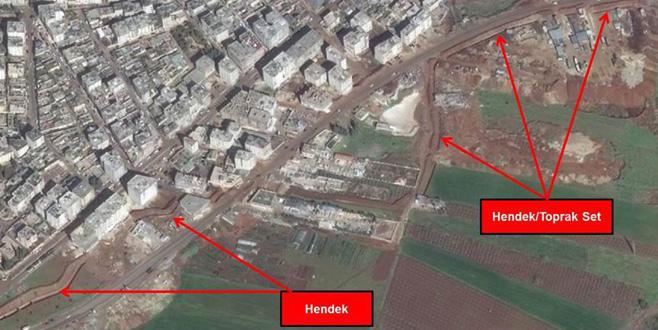 YPG Afrin'de hendek kazdırıyor