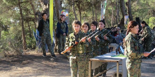YPG/PKK'nın zorla askere aldığı çocukların görüntüleri ortaya çıktı