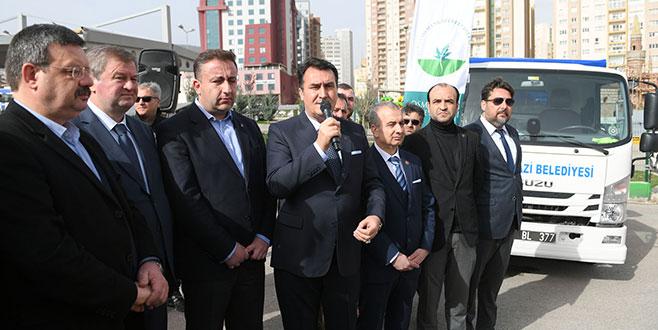 Osmangazi'den Bayırbucak Türkmenleri'ne yardım
