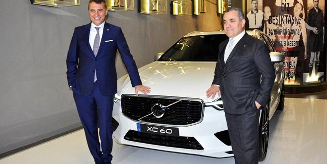 Beşiktaş ile Volvo sponsorluk anlaşması imzaladı