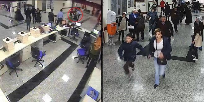 Hastanede panik: Yere düşen hastayı canlı bomba sandılar