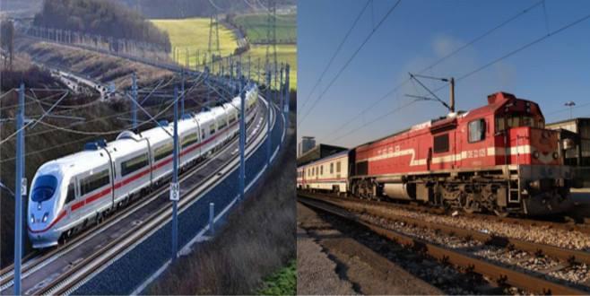 Hızlı tren inşaatı hızlanıyor! Sorun yük treni garı'nın kurulacağı yerde
