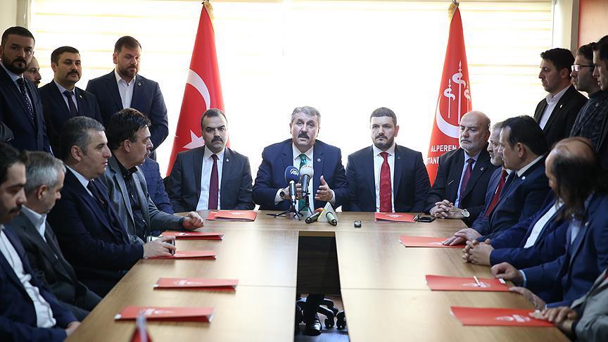 BBP Genel Başkanı Destici: Referandumunda 'evet' diyerek sistem değişikliğinin yanında olduk