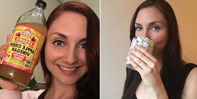 Bir ay boyunca her gün sirkeli su içerseniz ne olur?