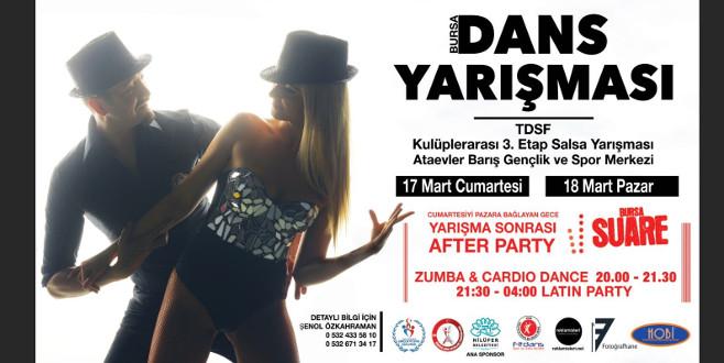 En iyi dansçılar Bursa'da seçilecek