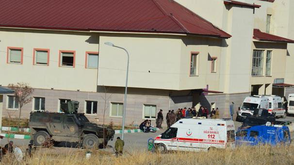 Ağrı'da çatışma çıktı: 1 asker şehit