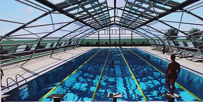 İnegöl'e olimpik havuz