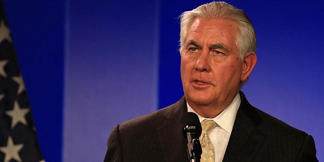 Tillerson'dan Kuzey Kore açıklaması