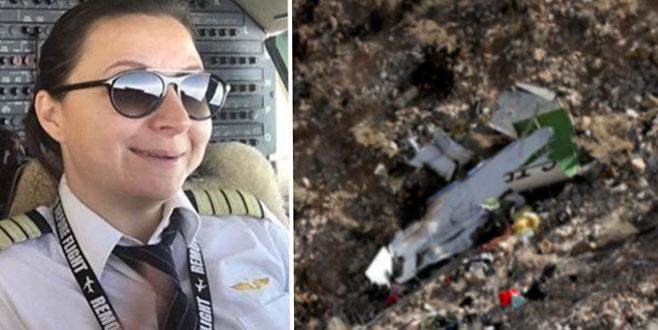 Düşen uçağın kaptanı Beril Gebeş'in son ses kaydı ortaya çıktı!