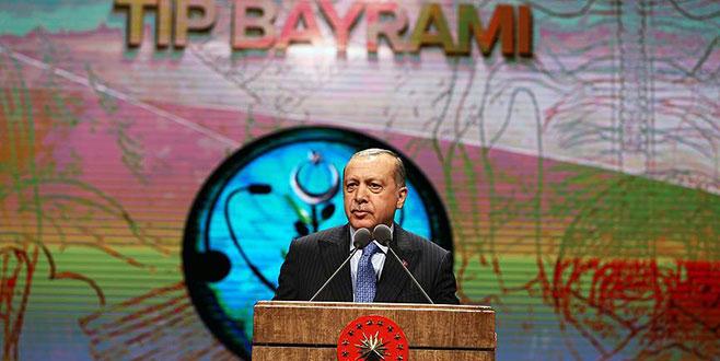 Cumhurbaşkanı Erdoğan'dan sağlık çalışanlarına müjde