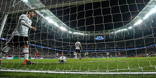 Beşiktaş, Şampiyonlar Ligi'ne veda etti