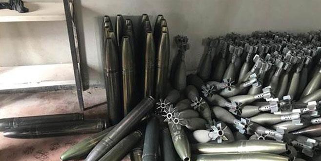 Racu'da çok miktarda ağır silah mühimmatı ele geçirildi