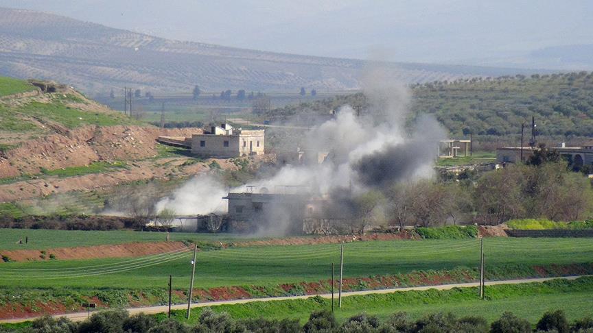 ÖSO birlikleri Afrin'e kentin güneydoğusundan girmeye başladı