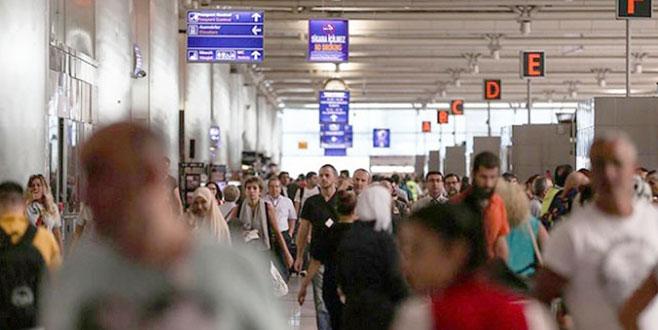 İstanbul'dan iki ayda 15 milyon yolcu uçtu