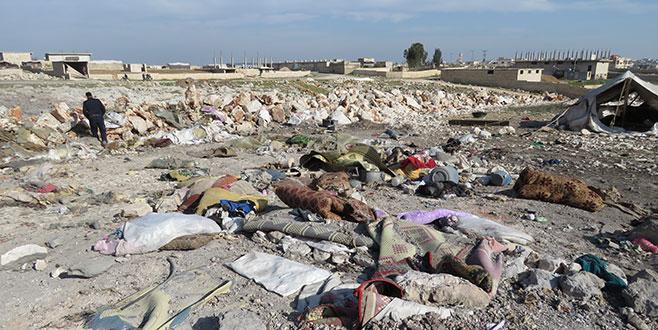 İdlib'de hava saldırısı: 10 ölü