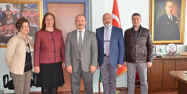 Akyüz Bursa'ya geldi