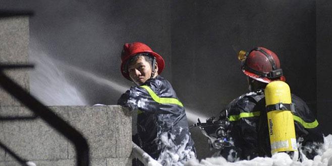 Vietnam'da yangın faciası